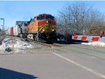 110218011 Eastbound BNSF freight
